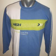 Bluza High Power; marime 164 cm inaltime: 49 cm bust, 58 cm lungime; 100% bumbac - Bluza barbati, Marime: S, Culoare: Din imagine