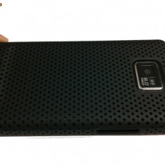 Samsung galaxy s2 i9100 husa neagra silicon + folie ecran gratis + expediere gratuita - Husa Telefon