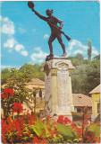 CP circulata 1974,Slatina,statuia Ecaterina Teodoroiu
