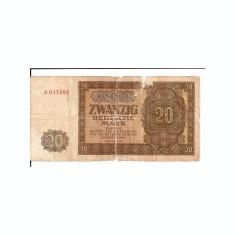 Germania 20 marci 1948, este cea din fotografie, aproape uzata, unica pe okazii.ro, 10 roni