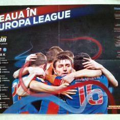 Poster STEAUA in Europa League