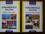 ADRIAN MIROIU - FUNDAMENTELE POLITICII, 2 VOL, Polirom