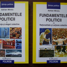 ADRIAN MIROIU - FUNDAMENTELE POLITICII, 2 VOL