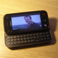 Schimb/Vand Nokia N97 Mini, 8 Gb - Telefon mobil Nokia N97 Mini, Negru, Neblocat