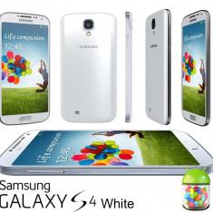 Samsug GALAXY S4 i9505 16GB WHITE FROST ALB 4G NOU ! Neverlocked ! SUPER OKAZIE! - Telefon mobil Samsung Galaxy S4, Neblocat, 1500-1799 MHz