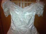 rochie de mireasa cu trena, marime 40-42
