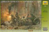 + Macheta 1/35 Zvezda 3610 - German anti-tank gunPAK-36 (3, 7cm) with crew +