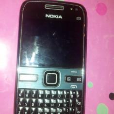 Smartphone Nokia E72 - Telefon mobil Nokia E72, Negru, Neblocat