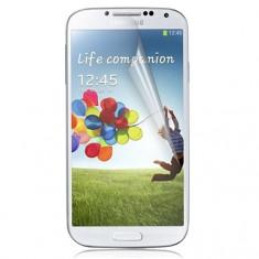 Folie Samsung Galaxy S4 i9500 Transparenta - Folie de protectie Samsung, Lucioasa