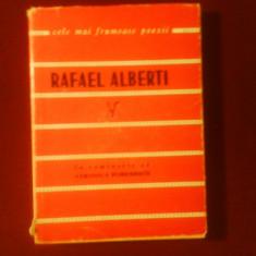 Rafael Alberti Poezii, traducere Veronica Porumbacu - Carte poezie