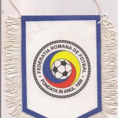 Fanion-FEDEREATIA ROMANA DE FOTBAL 1909 - Fanion fotbal