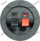 Conector boxe 2 pini, montare pe panou - 123657