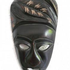 MASCA AFRICANA DIN LEMN CIOPLIT MANUAL - Arta din Africa