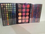 Trusa Profesionala  de Make -up 183 Culori Farduri Mate si Sidefate+ Blushuri