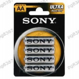 Baterie AA R6 Sony Ultra Zinc-Carbon-400071