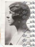 "Fotografie de presa Regina Elena sotia lui Carol de Romania, autentica si originala, datata 2 jul 1931, ""THE ASSOCIATED PRESS"" USA, Monarhie"