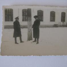 FOTOGRAFIE CU OFITERI ROMANI DIN ANII 40 - Fotografie veche