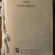 Carte - Agenda Medicala - Medicamente