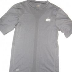 Tricou Adidas - Tricou barbati Adidas, Marime: L, Culoare: Negru, L, Maneca scurta, Negru