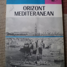 Orizont Mediteranian Serban Gheorghiu editura atlas carte turism calatorie hobby - Carte de calatorie