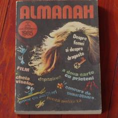 Almanah Viata Romaneasca 1985