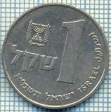 3431  MONEDA  - ISRAEL  - 1 SHEQEL  - anul 1981 ? -starea care se vede