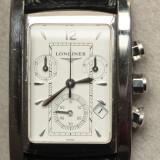 Longines Dolce Vita Cronograph - Original - Ceas barbatesc Longines, Lux - sport, Quartz, Inox, Piele, Cronograf