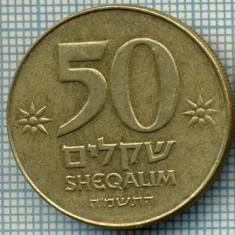 3345 MONEDA - ISRAEL - 50 SHEQALIM - anul 1985 ? -starea care se vede
