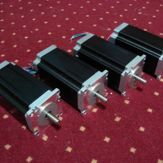 Motor pas cu pas 3A 3Nm ax dublu pentru CNC, necesita Driver, Universal
