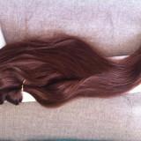 Extensii clip-on full head+volume!Culoare :4(maro)
