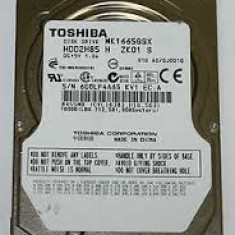 Hdd TOSHIBA MK1665GSX g002825a 160GB 5400 RPM 8MB DEFECT pt placa logica - HDD laptop Western Digital