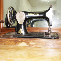 masina cusut manuala singer