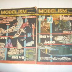 REVISTA MODELISM TEHNIUM NR.4 \ 1985 si 2 \ 1986 - Revista scolara