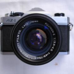 Aparat foto cu film Fuji AZ1+zoom 43-75/3, 5-4, 5 filet 42mm+tocul original - Aparat Foto cu Film Fujifilm, SLR, Mic