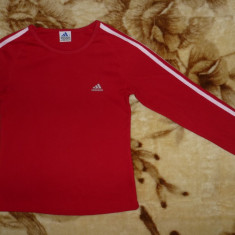 Bluza Adidas; marime nominala M: 40 cm bust, 54 cm lungime; impecabila, ca noua - Bluza barbati Adidas, Marime: M, Culoare: Din imagine