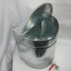 Bazin apa 20L zincat cu robinet, canea..