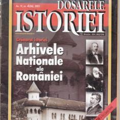 DOSARELE ISTORIEI NR. 4 DIN 2001 - Revista culturale