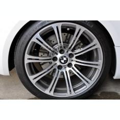 capace bmw carbon 3d real gri la set de 4 bucati