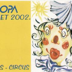 BOSNIA HERTEGOVINA 2002 EUROPA CEPT CIRCUL IN CARNET 2 FOTO