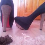 Pantofi superbi! - Pantof dama, Culoare: Verde, Marime: 36, Verde