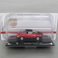 Abarth Fiat 750 Vignale Goccia 1957, 1/43, 1:43