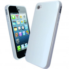 Husa TPU Apple iPhone 4 4S White - Husa Telefon