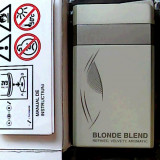 BRICHETA DUNHILL BLONDE BLEND (ALBA) -METALICA -ANTIVINT,PRODUSELE SUNT NOI !!!