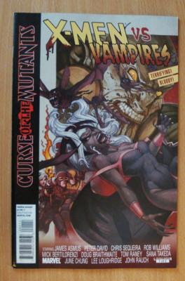 X-Men and Vampires - Curse Of The Mutants #1 . Marvel Comics foto