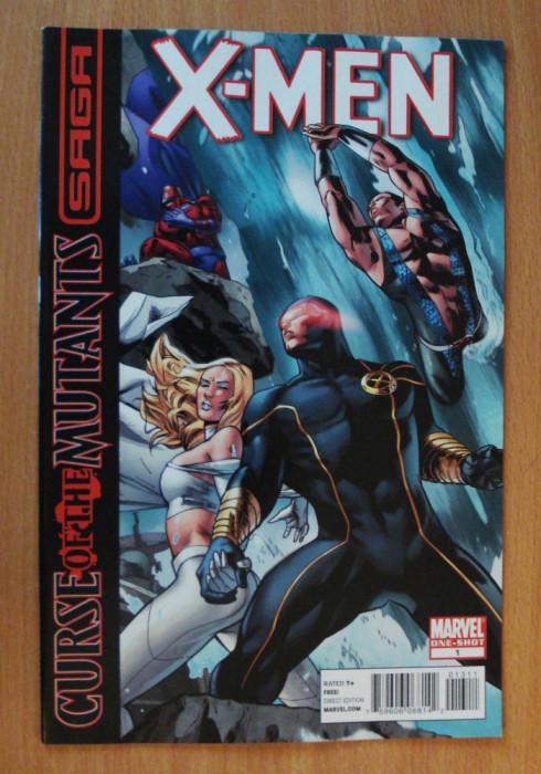 X-Men Curse Of The Mutants Saga #1- Marvel Comics foto mare