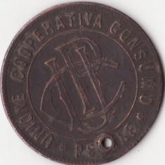 Jeton vechi - Italia - 10 Perale - Unione Cooperativa Consumo