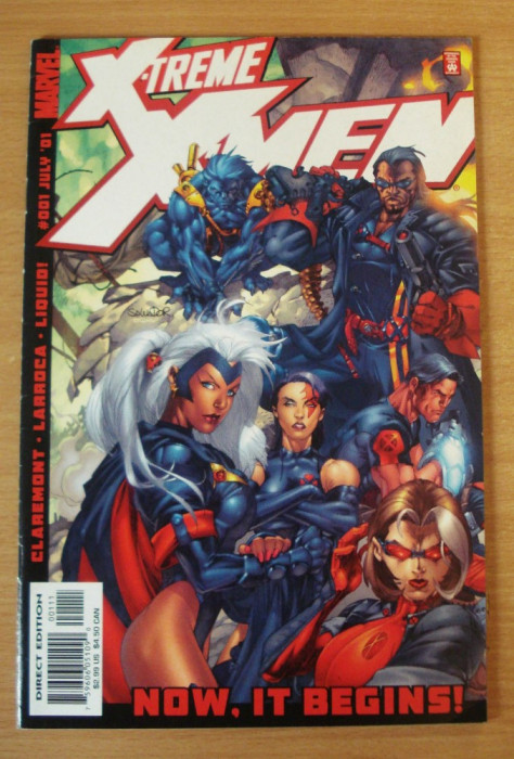 X-Men X-treme #1 Marvel Comics foto mare