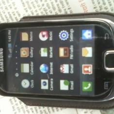 Samsung galaxy fit - Telefon mobil Samsung Galaxy Fit, Negru, Neblocat