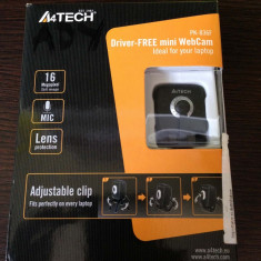 WebCam A4Tech 16MP + Microfon (PK-836F), Peste 2.4 Mpx