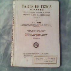 Carte de fizica (caldura)-G.A.Dima - Carte Fizica